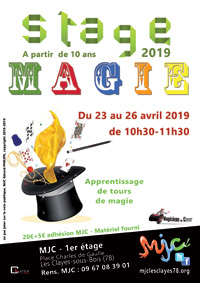 Affiche stage magie web 00