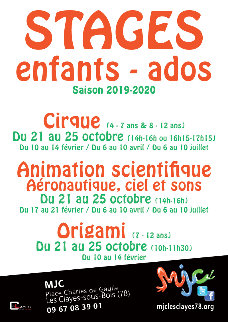 Stages enfants 2019 2020 800WEB